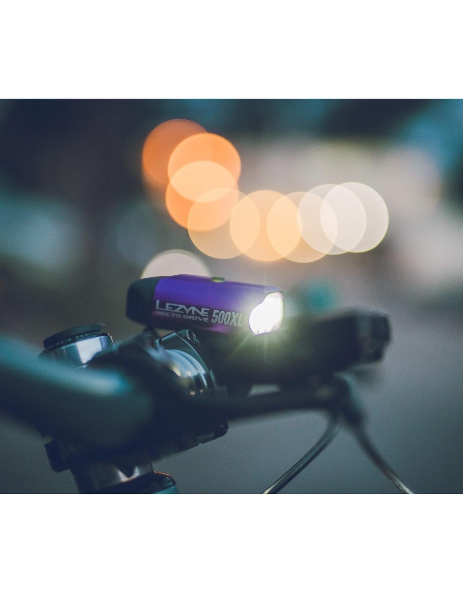 Lezyne Lezyne Hecto Drive 500XL Headlight: Gloss Black