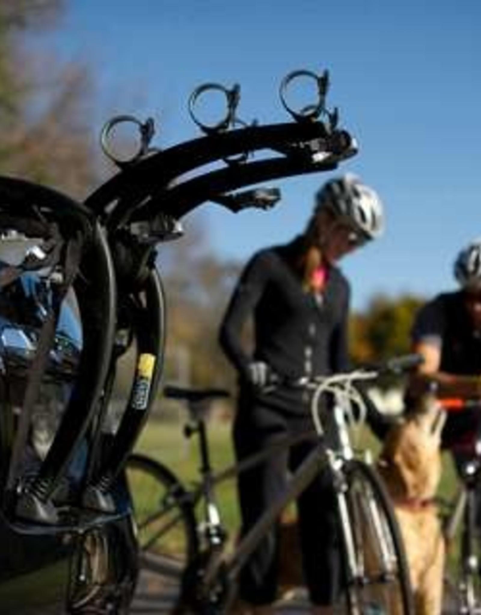 Saris Saris Bones Trunk Rack: 3 Bike, Black AR6121