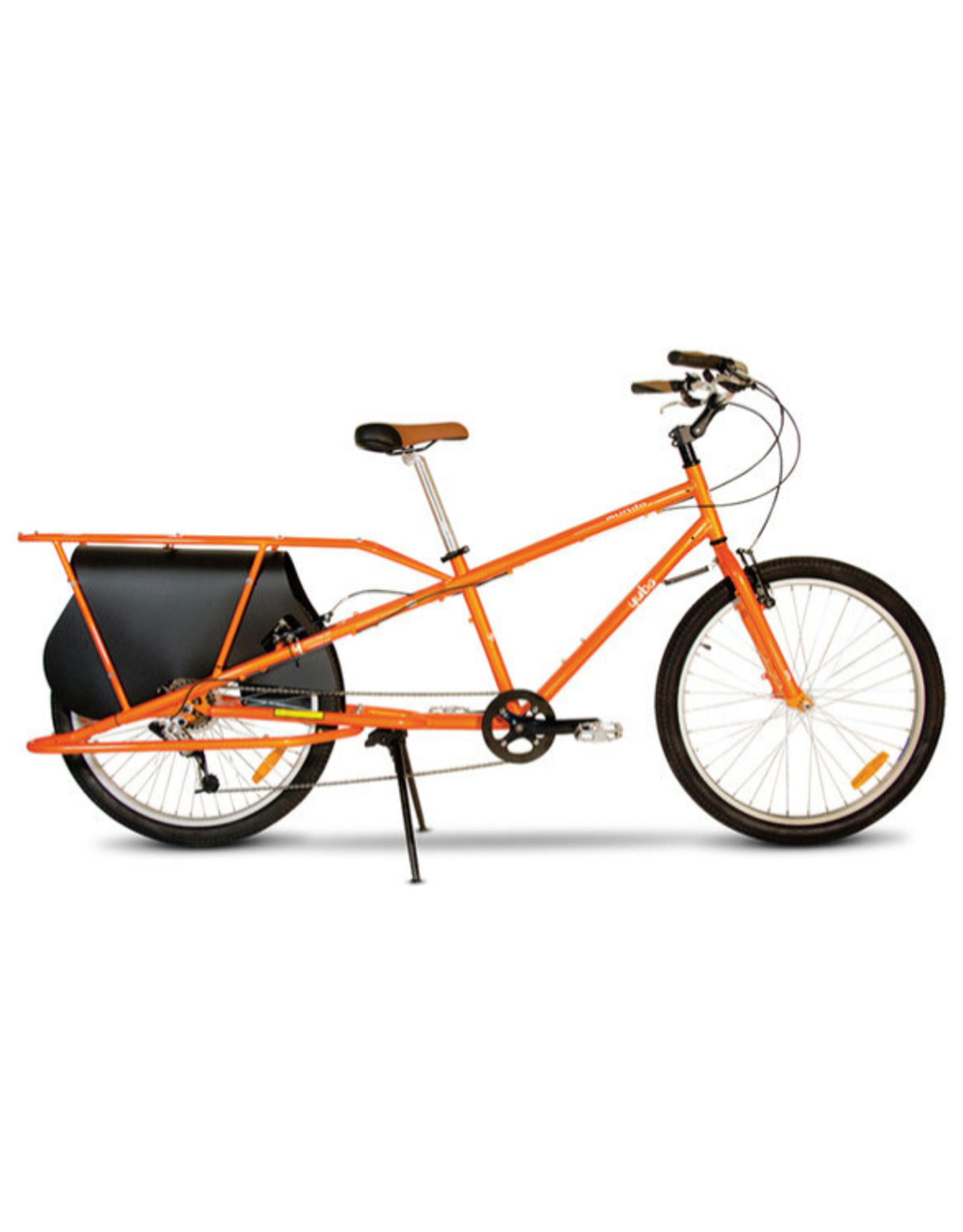 Yuba Yuba Mundo Classic Pedal Cargo Bike-Orange
