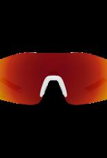 Smith Smith Reverb Sunglasses Matte White Chromapop Red Mirror