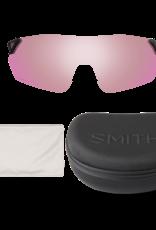 Smith SMITH REVERB MATTE WHITE CHROMAPOP RED MIRROR