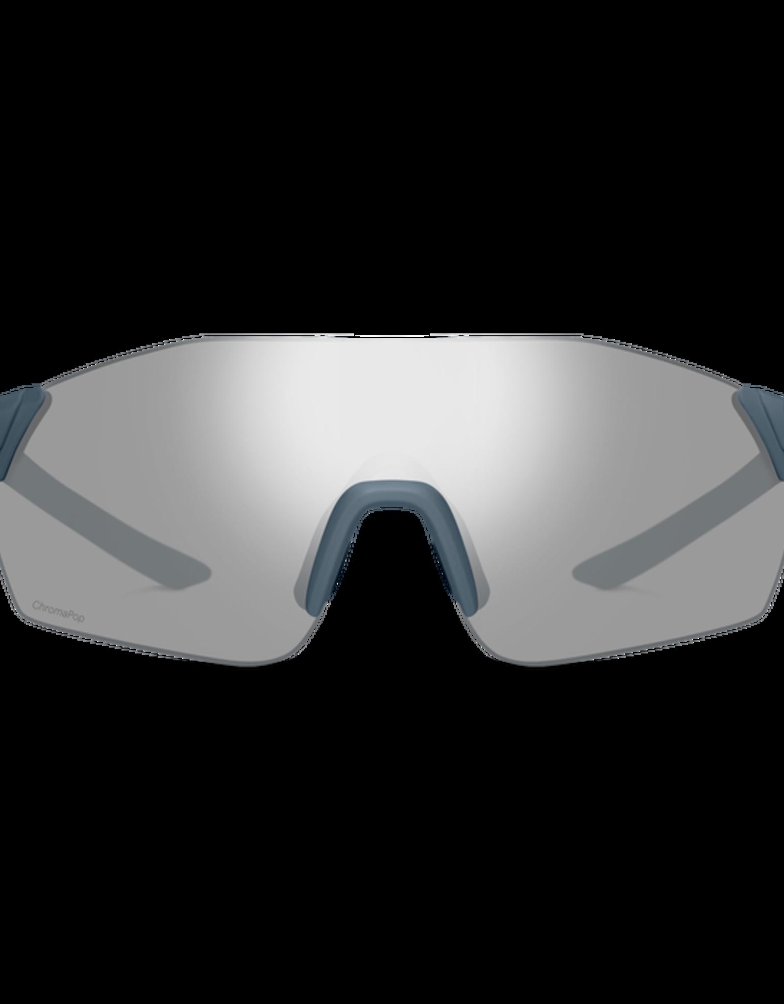 Smith Smith Reverb Sunglasses Matte Iron Chromapop Platinum Mirror