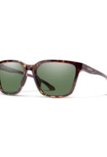 Smith Optics Smith Shoutout Sunglasses Vintage Tortoise ChromaPop Gray Green