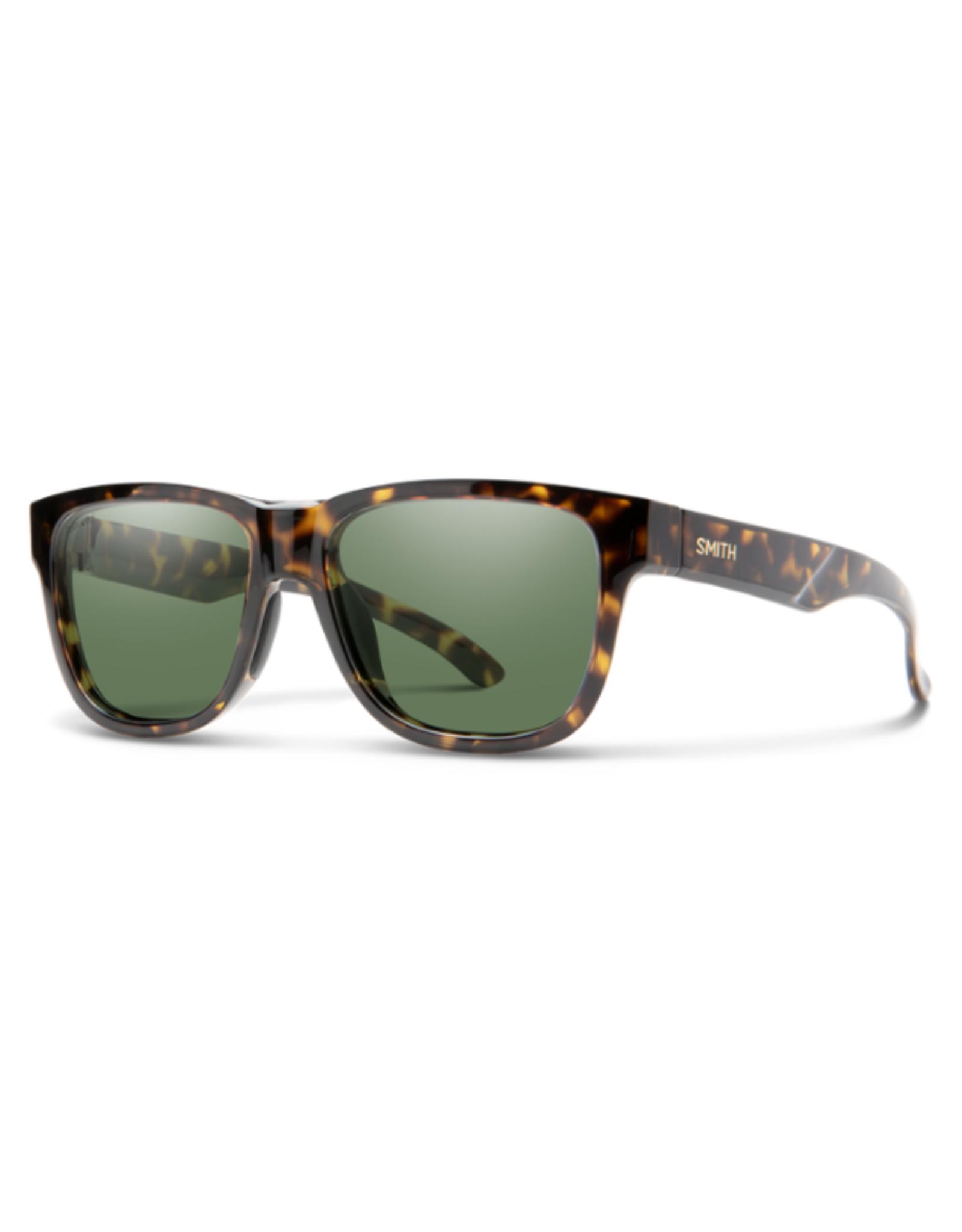 Smith Optics Smith Lowdown Slim 2 Vintage Tortoise Polarized Gray Green