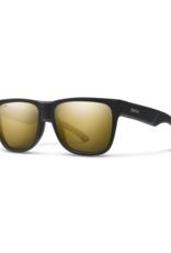 Smith Optics Smith Lowdown 2 Matte Black Gold ChromaPop Polarized Black Gold