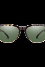 Smith Smith Haywire Sunglasses Vintage Tortoise ChromaPop Polarized Gray Green