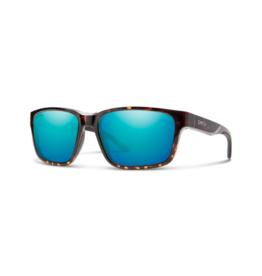 Smith Optics Smith Basecamp Sunglasses Tortoise ChromaPop Polarized Opal Mirror