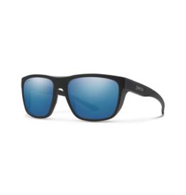 Smith Optics Smith Barra Matte Black Polarized Blue Mirror