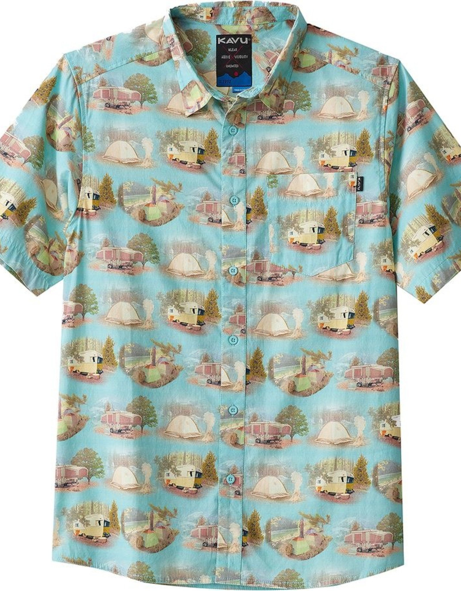 Kavu M's The Jam Car Camp SS Shirt