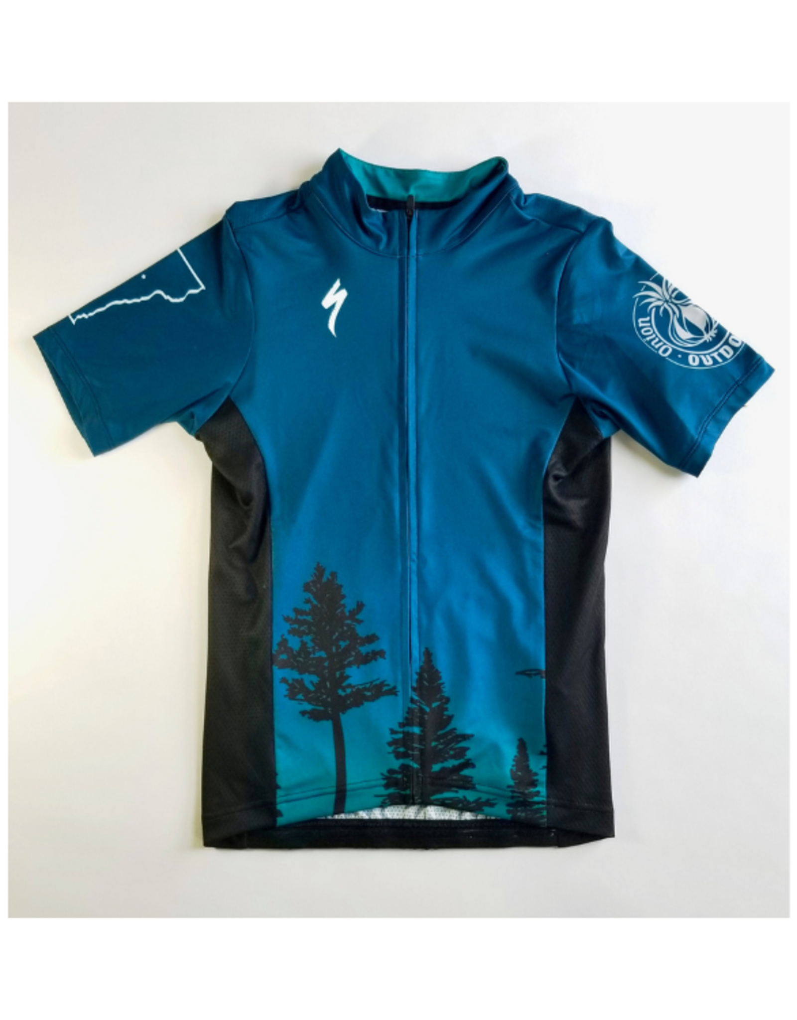 Specialized Specialized 2021 ORO Custom RBX SS Road/Gravel/MTB Jersey - Wmn's Blue Trees
