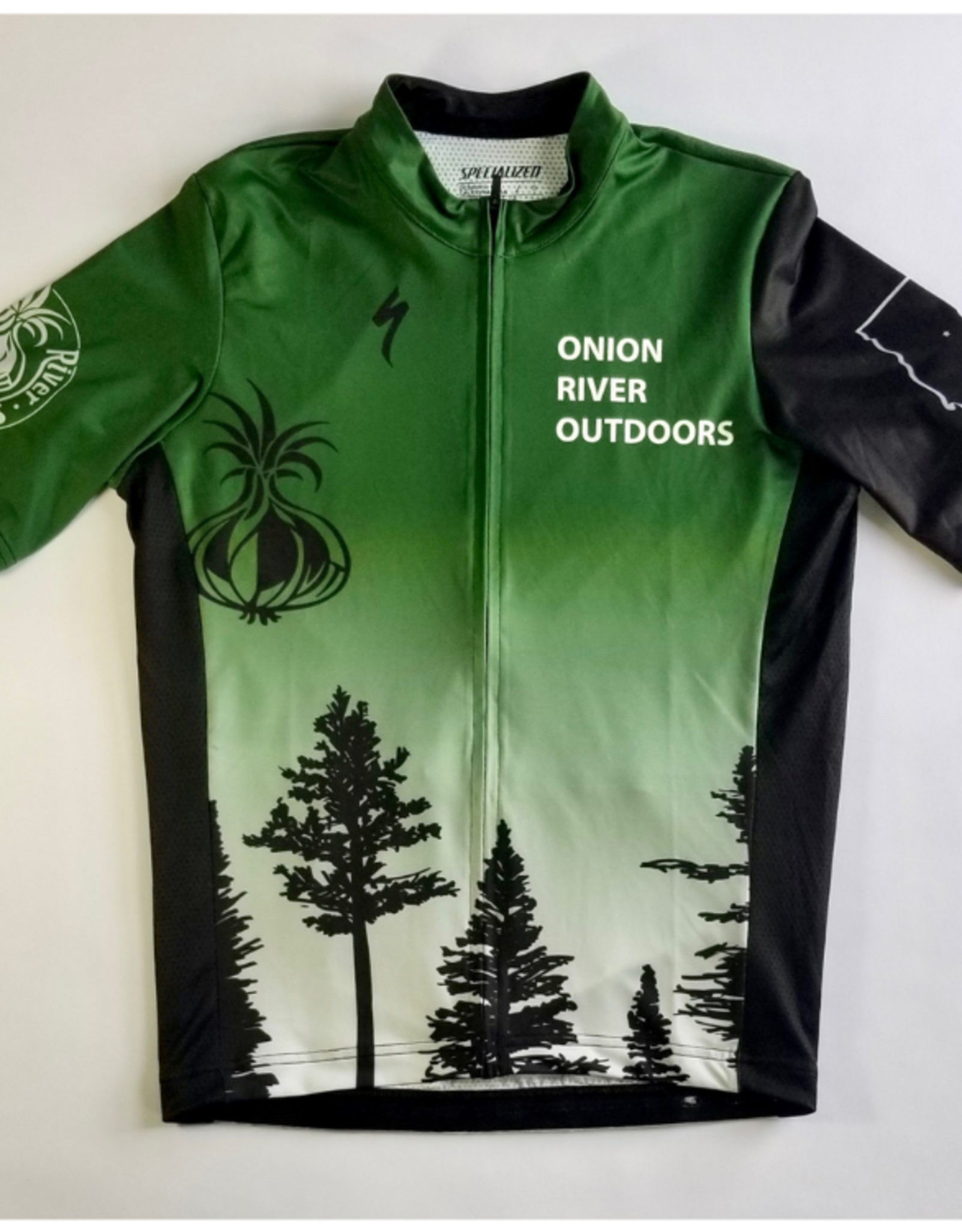 Specialized Specialized 2021 ORO Custom RBX SS Road/Gravel/MTB Jersey - Men's Green Trees