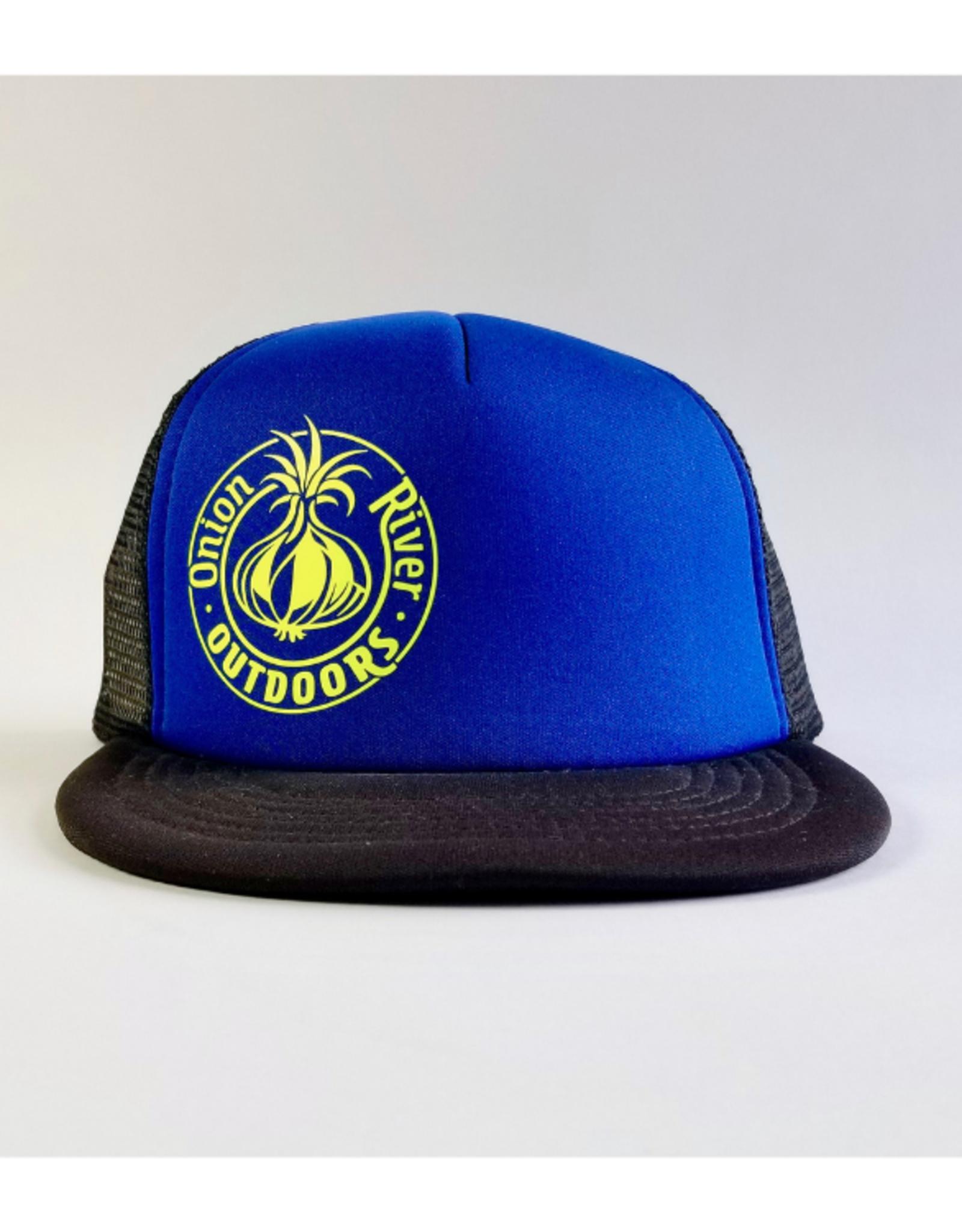 ORO 2019 Logo Trucker-Royal Blue/Neon Yellow