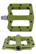 FYXATION Mesa-MP Desert Nylon Platform Pedals, Green
