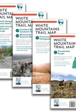 AMC AMC WHITE MTN NATL FOREST TRAIL MAP SET - TYVEK