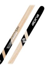 Alpina Alpina 2022 Discovery 68 NW Flat BC Skis Black