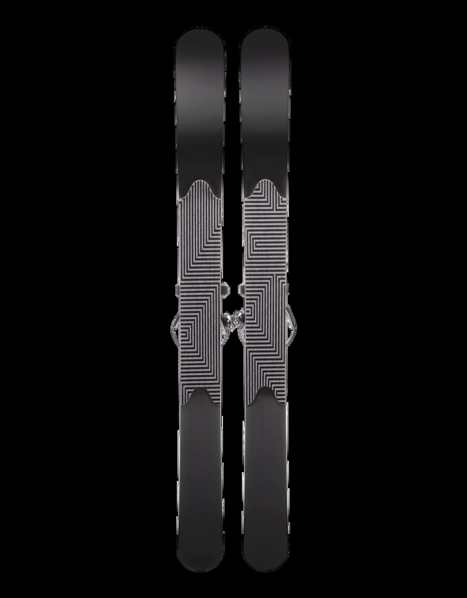 Black Diamond Black Diamond 2022 GlideLite 147 Trek Skis with Universal Bindings 147cm