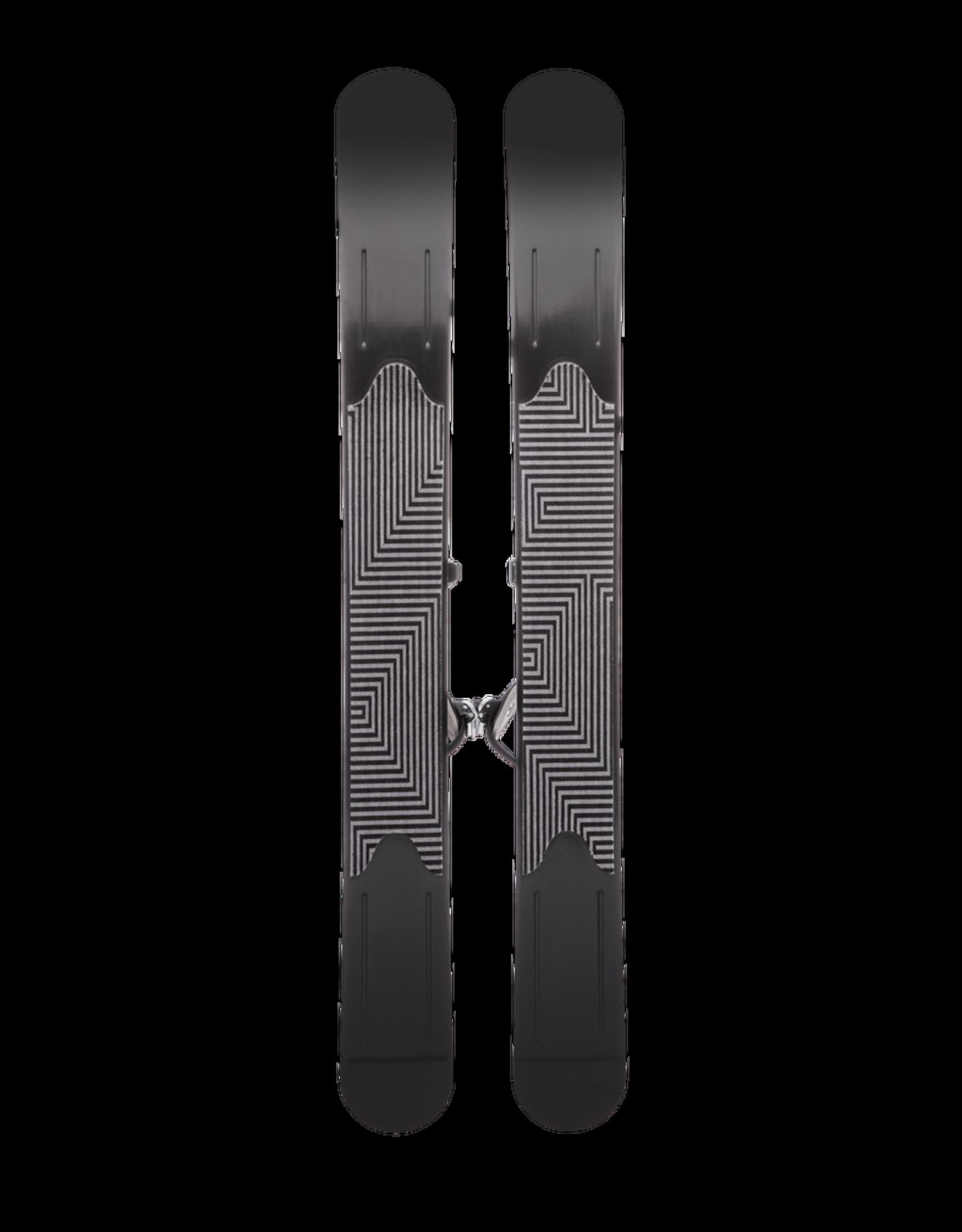 Black Diamond Black Diamond 2022 GlideLite 127 Trek Skis with Universal Bindings 147cm