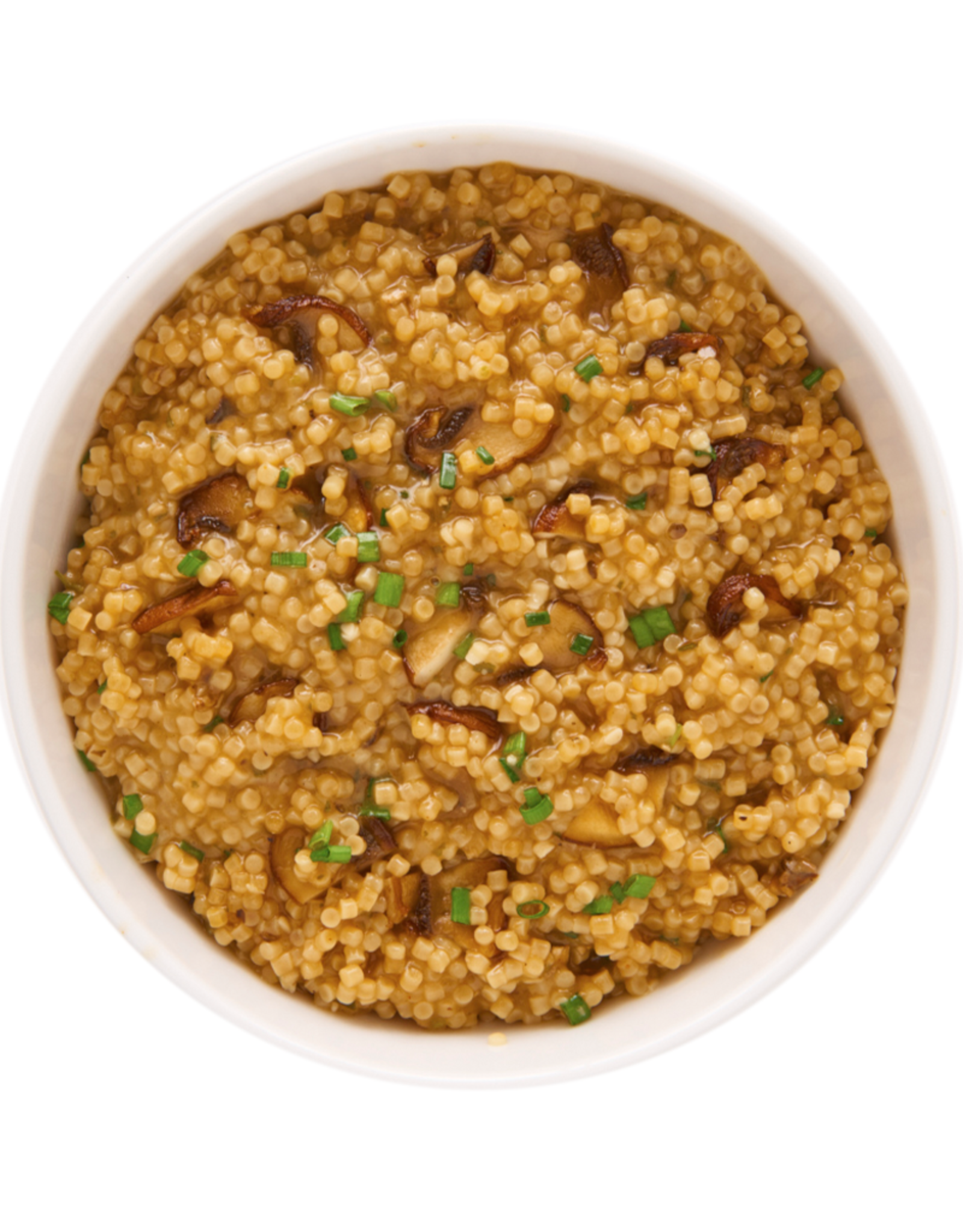 Ideal Protein Creamy Mushroom & Parmesan Couscous Risotto