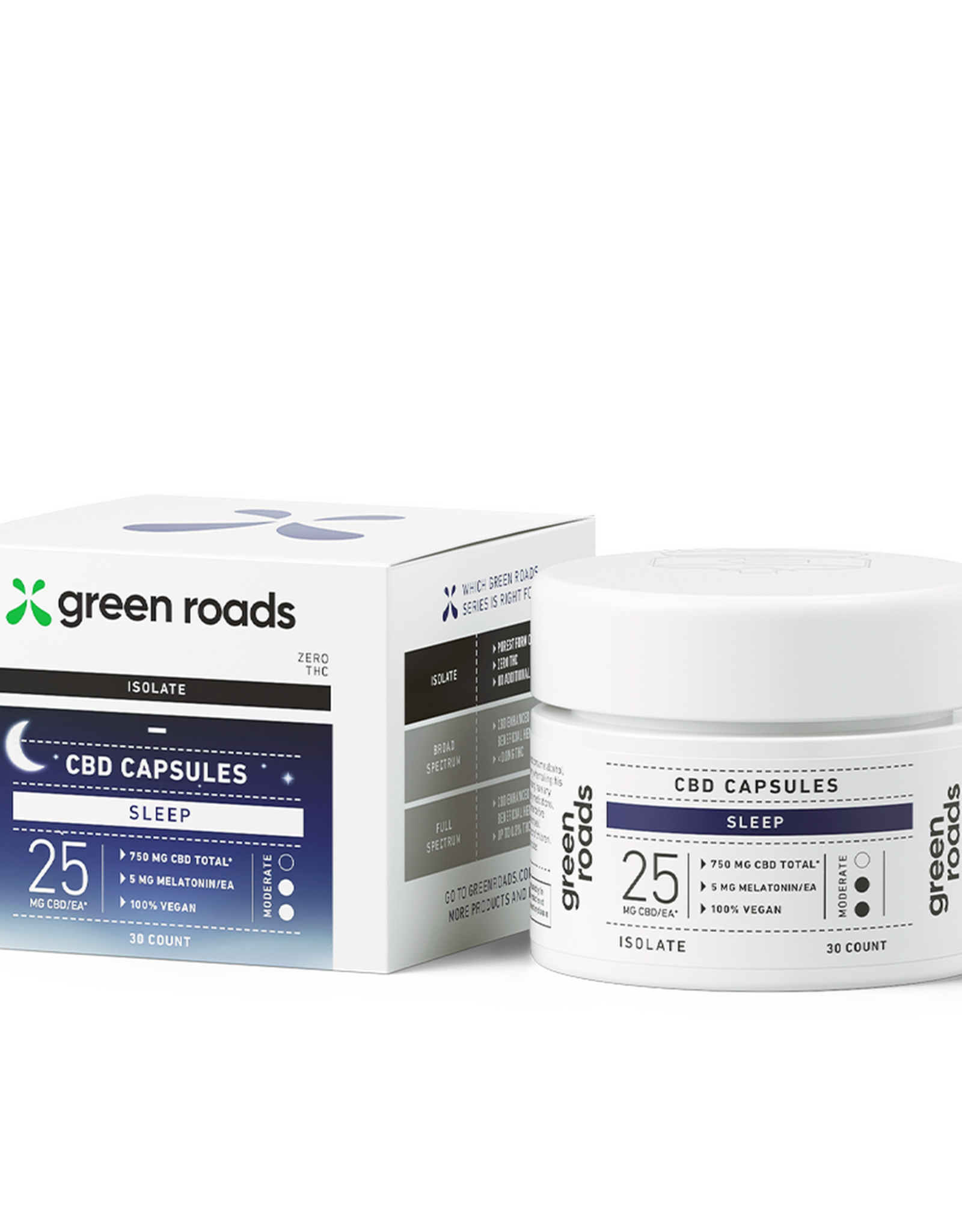 Green Roads Sleep Capsules - 750mg (30 DAY)