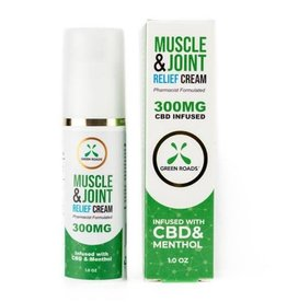 Green Roads 300 MG Muscle & Joint Relief Cream