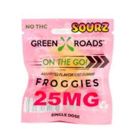 Green Roads 25 MG Froggies Sourz
