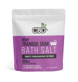 CBDfx CBDfx Tranquil Bath Salt 100mg