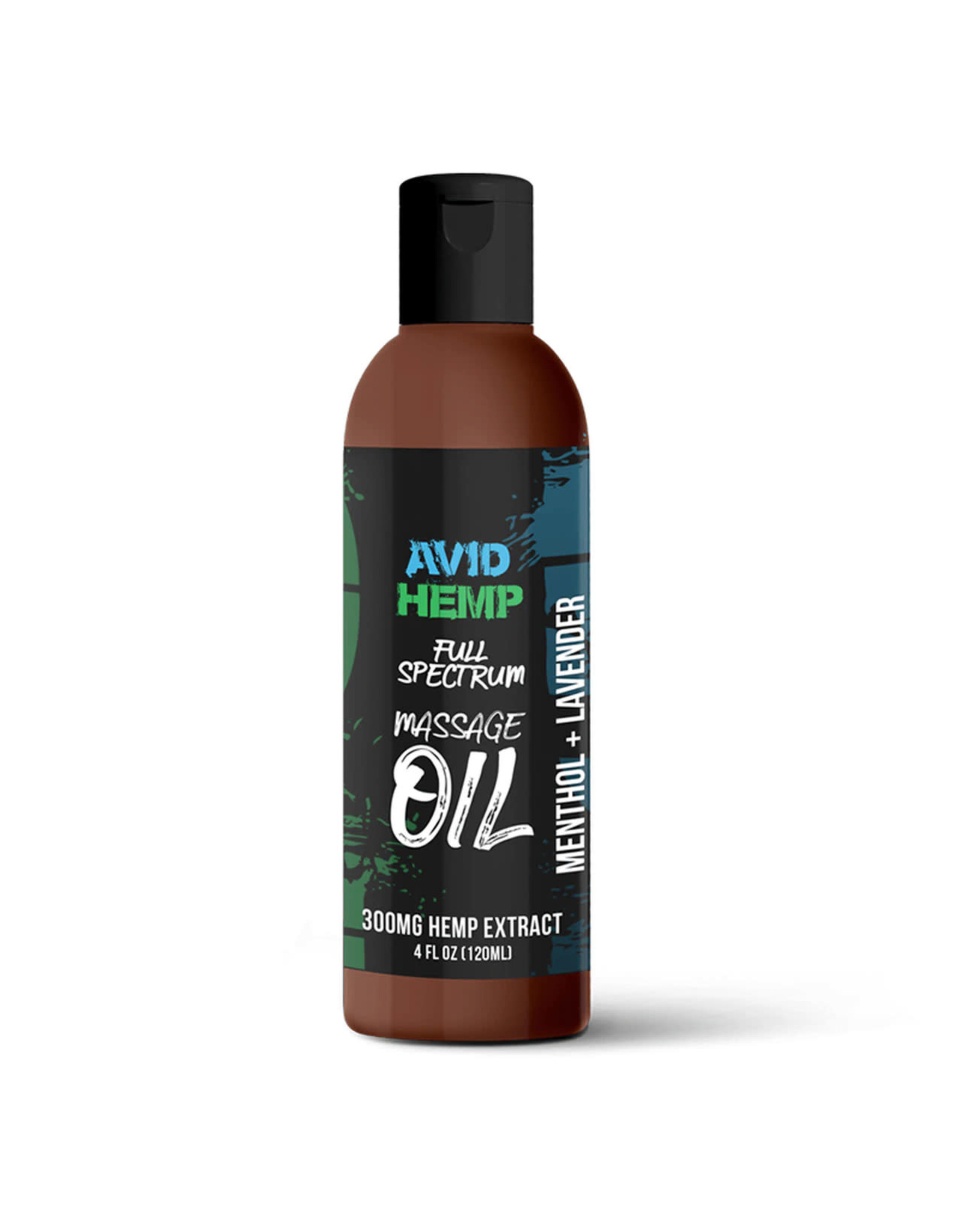 Avid Avid Hemp Sensual CBD Massage Oil 300mg 4oz
