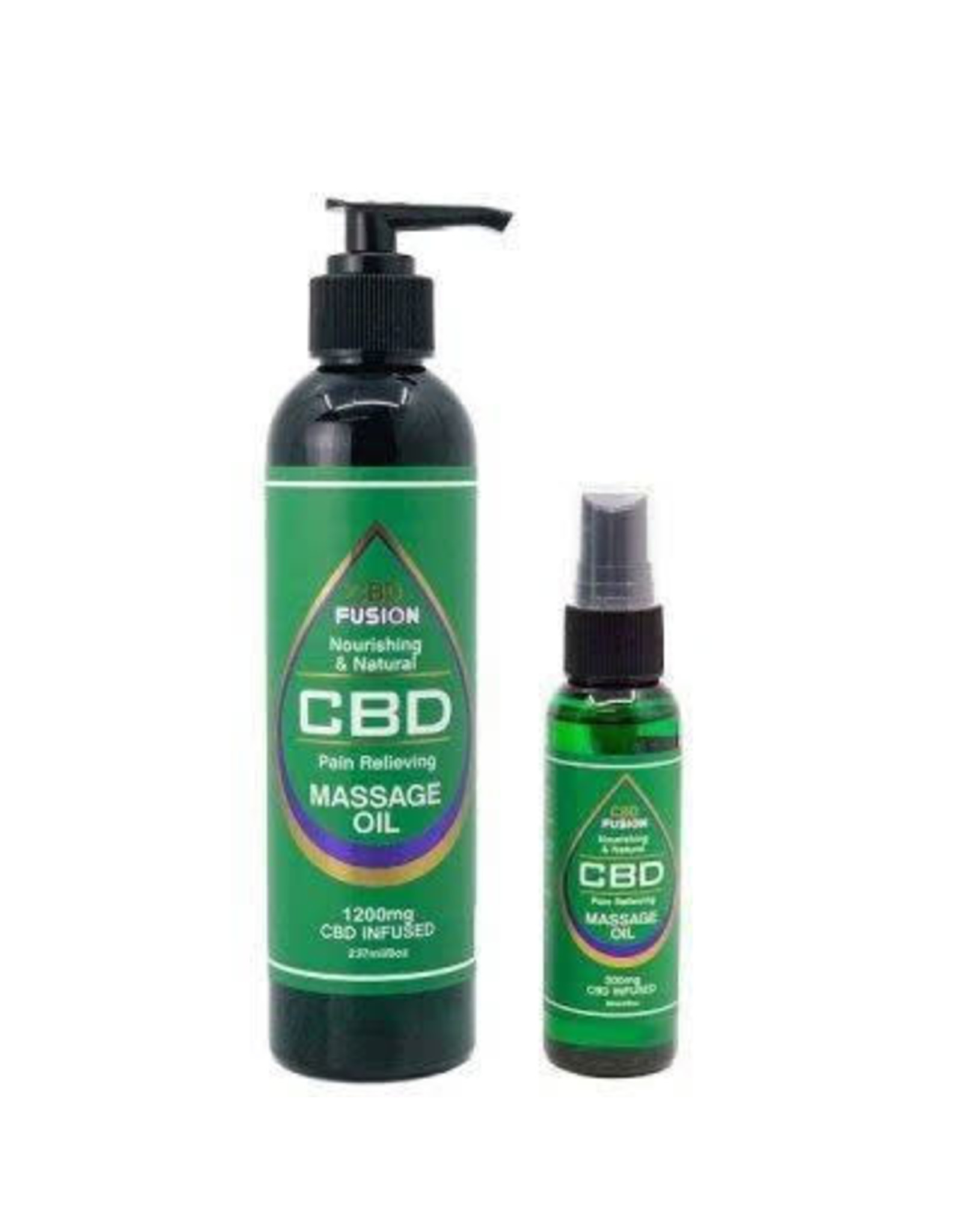 CBD Fusion CBD Fusion Topical Massage Oil 1200mg 8oz