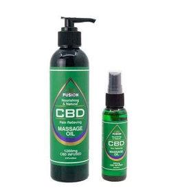 CBD Fusion CBD Fusion Topical Massage Oil 1200mg 8oz