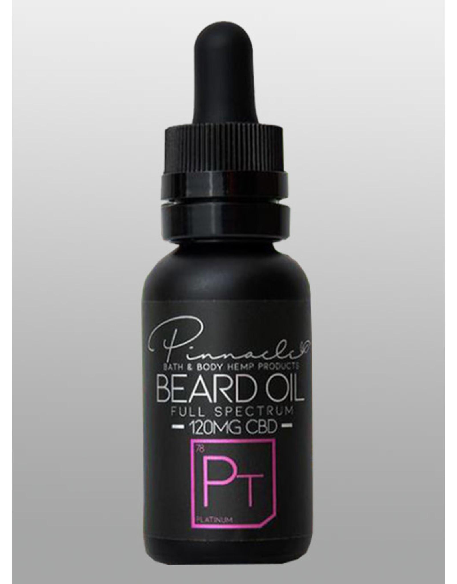 Pinnacle Hemp Pinnacle Beard Oil 120mg - Platinum 1oz