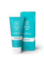 Social CBD Social CBD Foot Renewal Cream 250mg 3oz