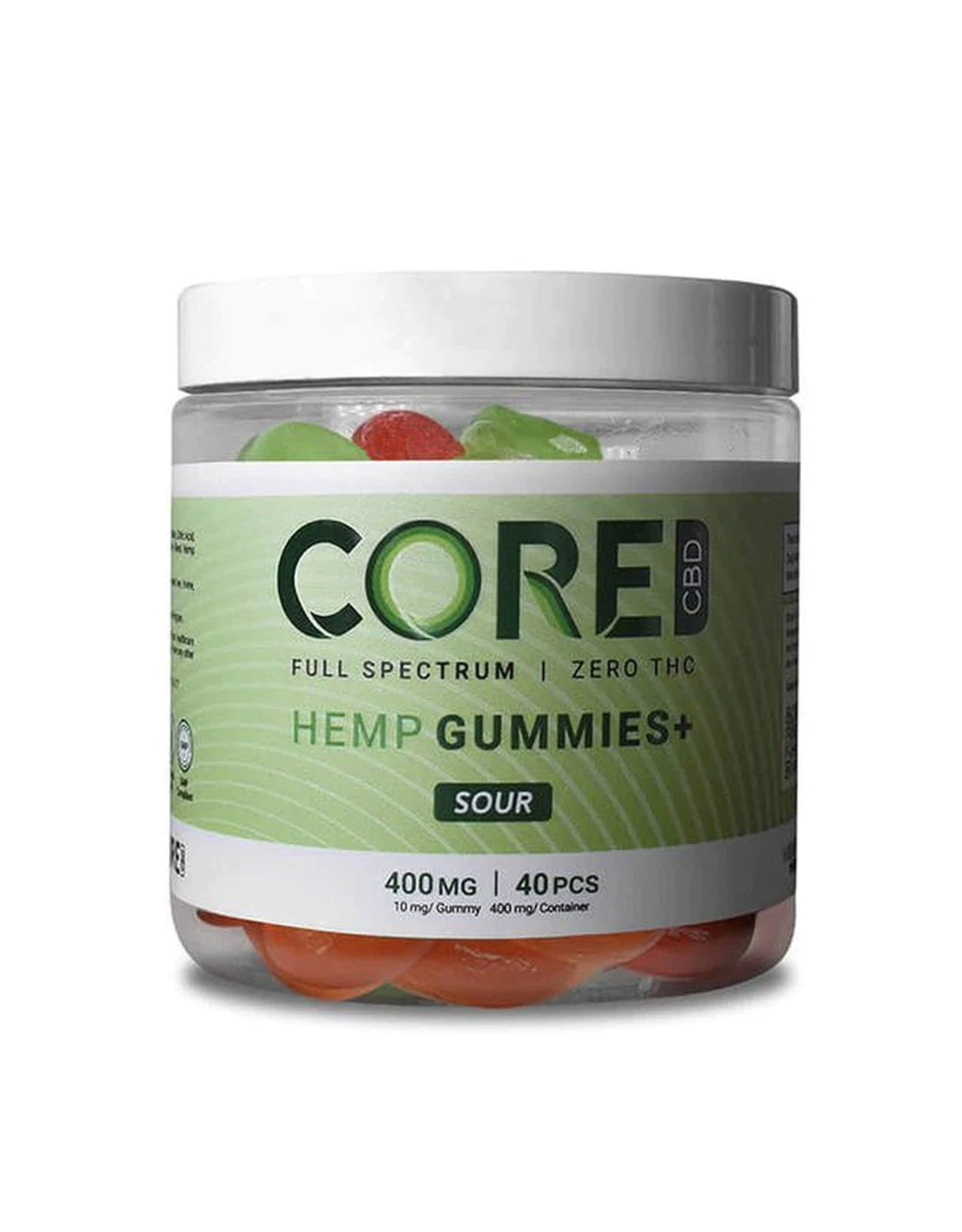CORE Core Sour Gummies 400mg 40ct
