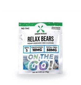 Green Roads Green Roads Relax Bears Gummies 50mg 5ct