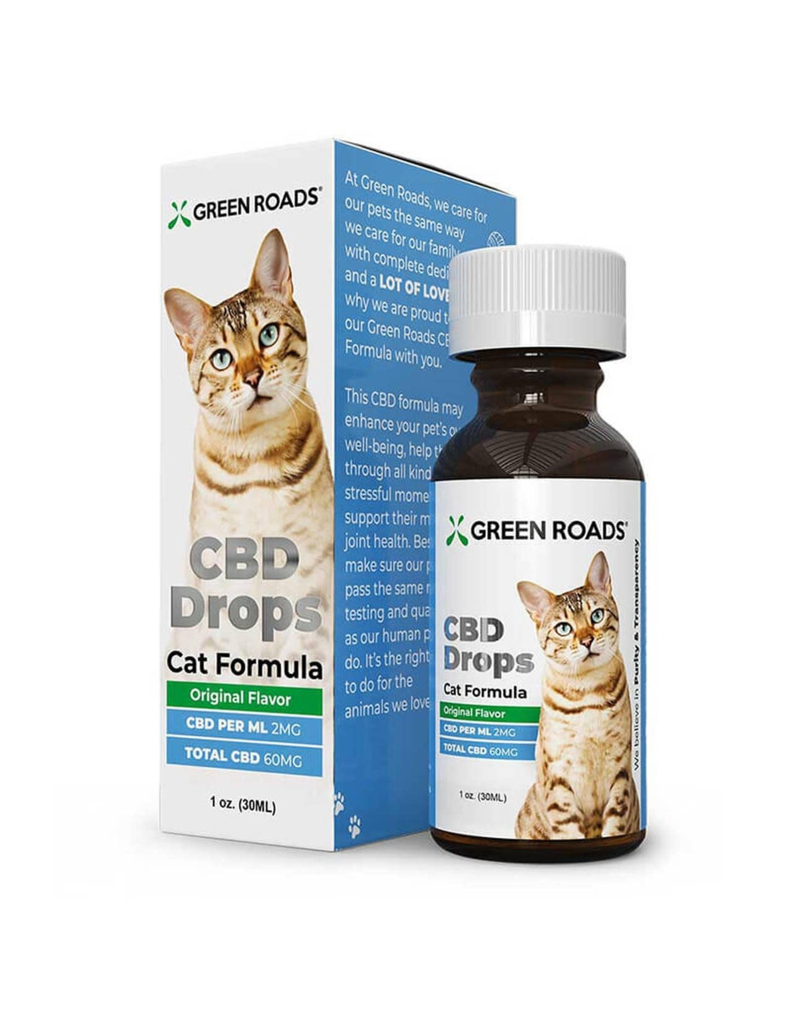 Green Roads Green Roads Tincture Cat Formula 60mg 1oz