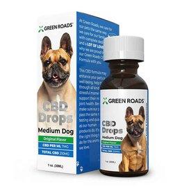 Green Roads Green Roads CBD Drops for Medium Dog 210mg  1oz