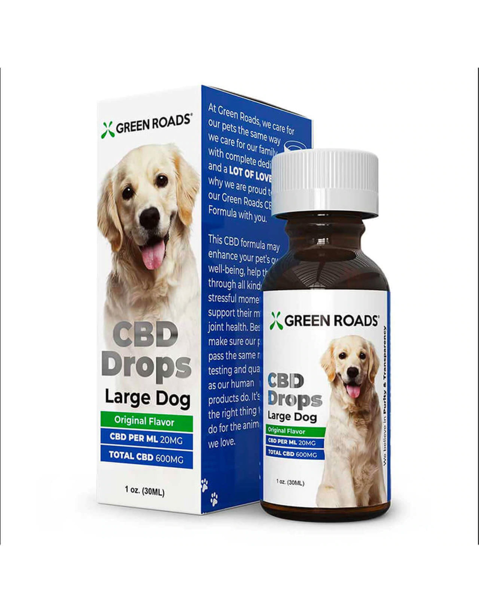 Green Roads Green Roads CBD for Large Dogs 600mg