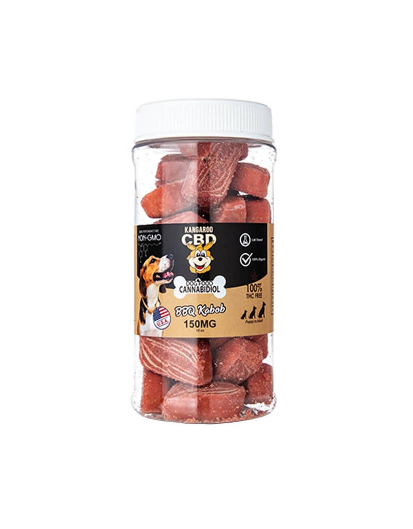 Kangaroo CBD Kangaroo CBD Pet Treats BBQ Kabob  150mg 16oz