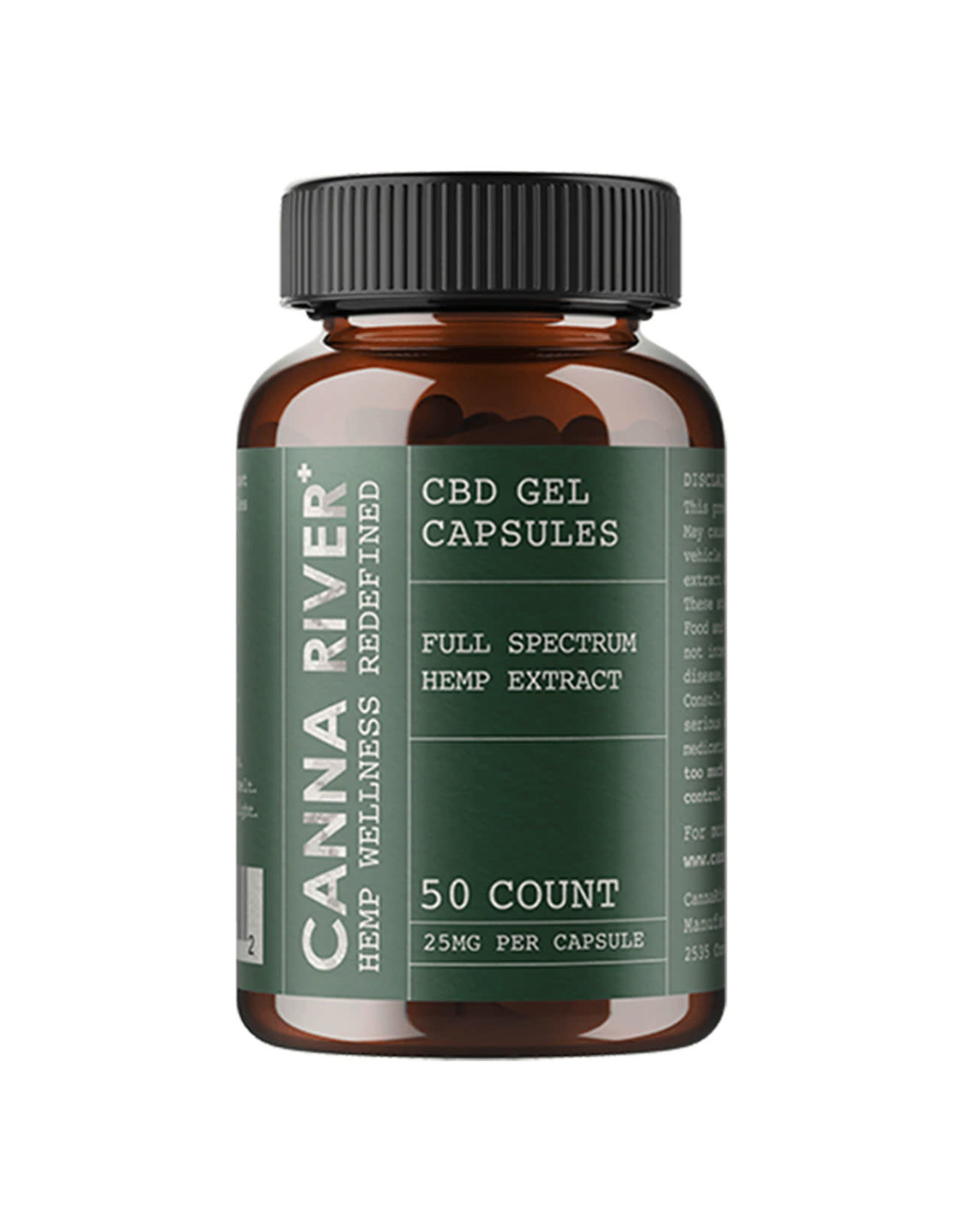 Canna River Canna River Full Spectrum Gels 25mg 50ct
