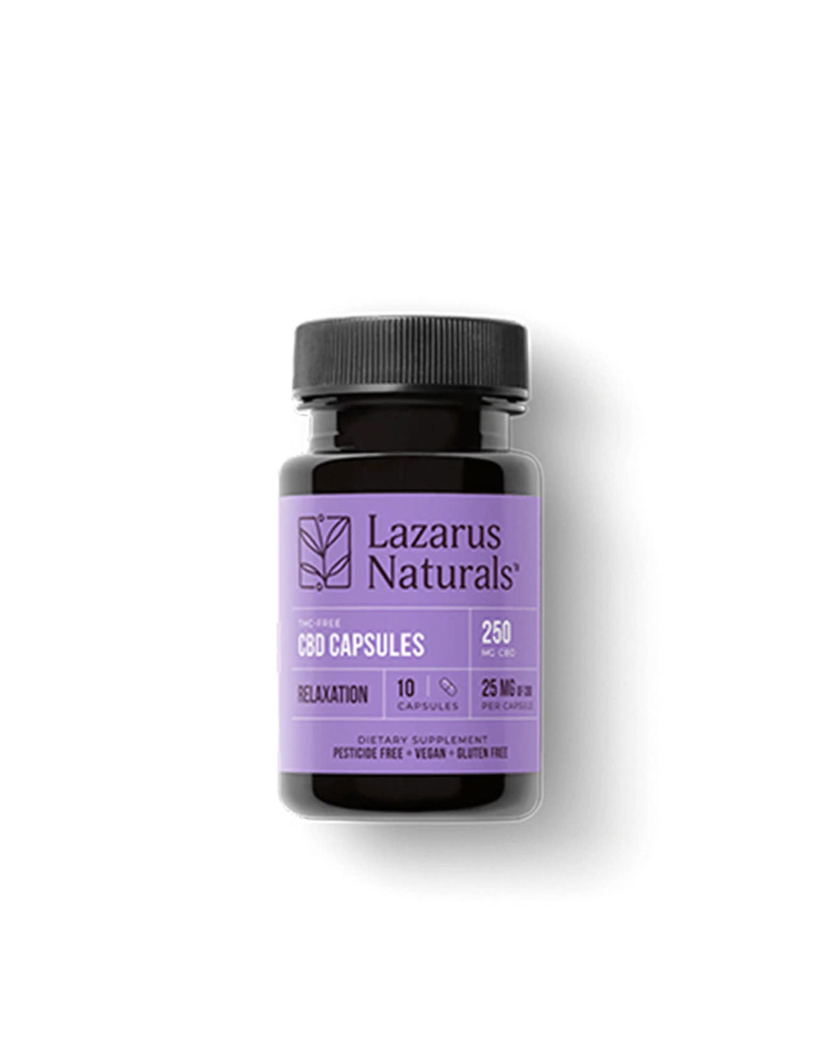 Lazarus Naturals Lazarus Naturals Capsules Relaxation 25mg 10ct