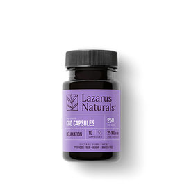 Lazarus Naturals Lazarus Naturals Capsules Relaxation 25mg 10ct