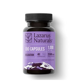 Lazarus Naturals Lazarus Naturals Capsules Relaxation 1000mg 40ct