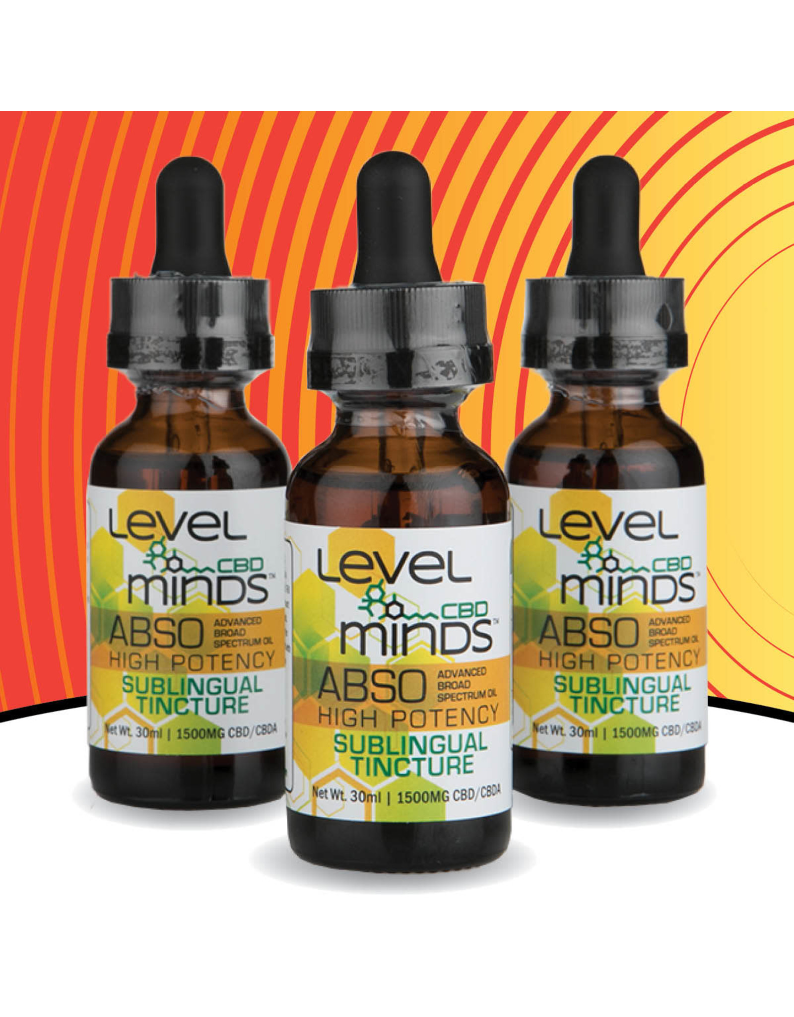 Level Minds Level Minds ASBO Tincture 1500mg 30ml