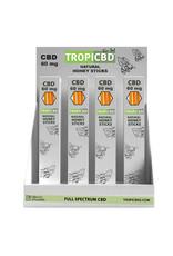 Tropic CBD Tropic CBD Natural Honey Sticks 20mg 3ct