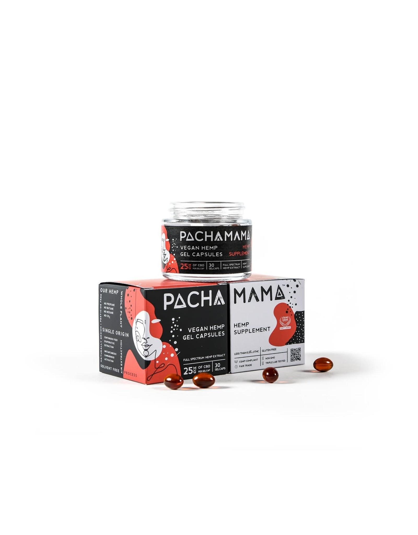 Pachamama Pachamama Gel Caps 25mg 30 count