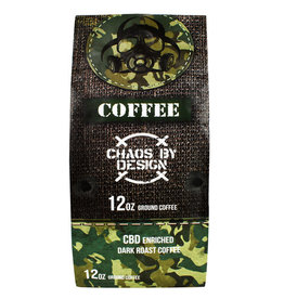 Outbreak Nutrition Outbreak Nutrition CBD Dark Roast Coffee 12oz