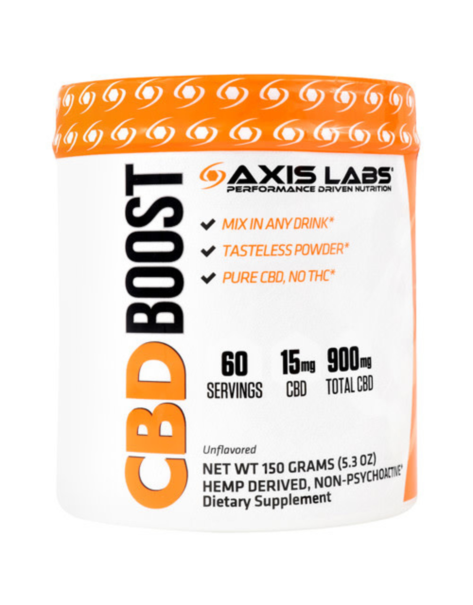 Axis Labs CBD Boost 900mg 60 Servings 5.3oz