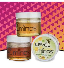 Level Minds Level Minds CBD Honey 100mg Mountain Flora 2oz