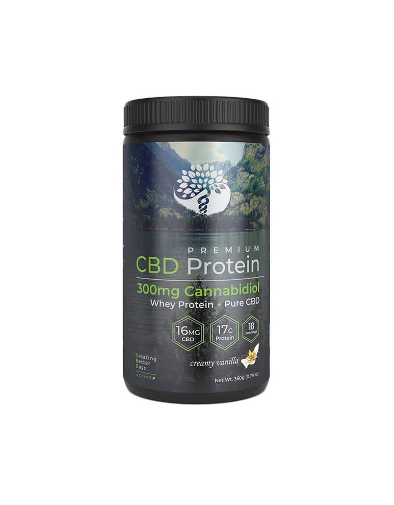 Creating Better Days Creating Better Days CBD Protein Powder Chocolate 300mg
