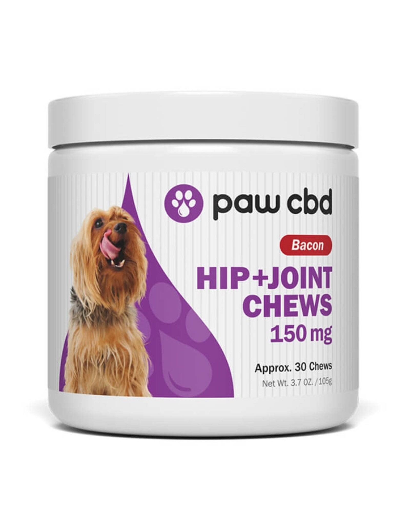 CBDMD CBDMD Pets Hip and Joint Chews 150mg 30ct