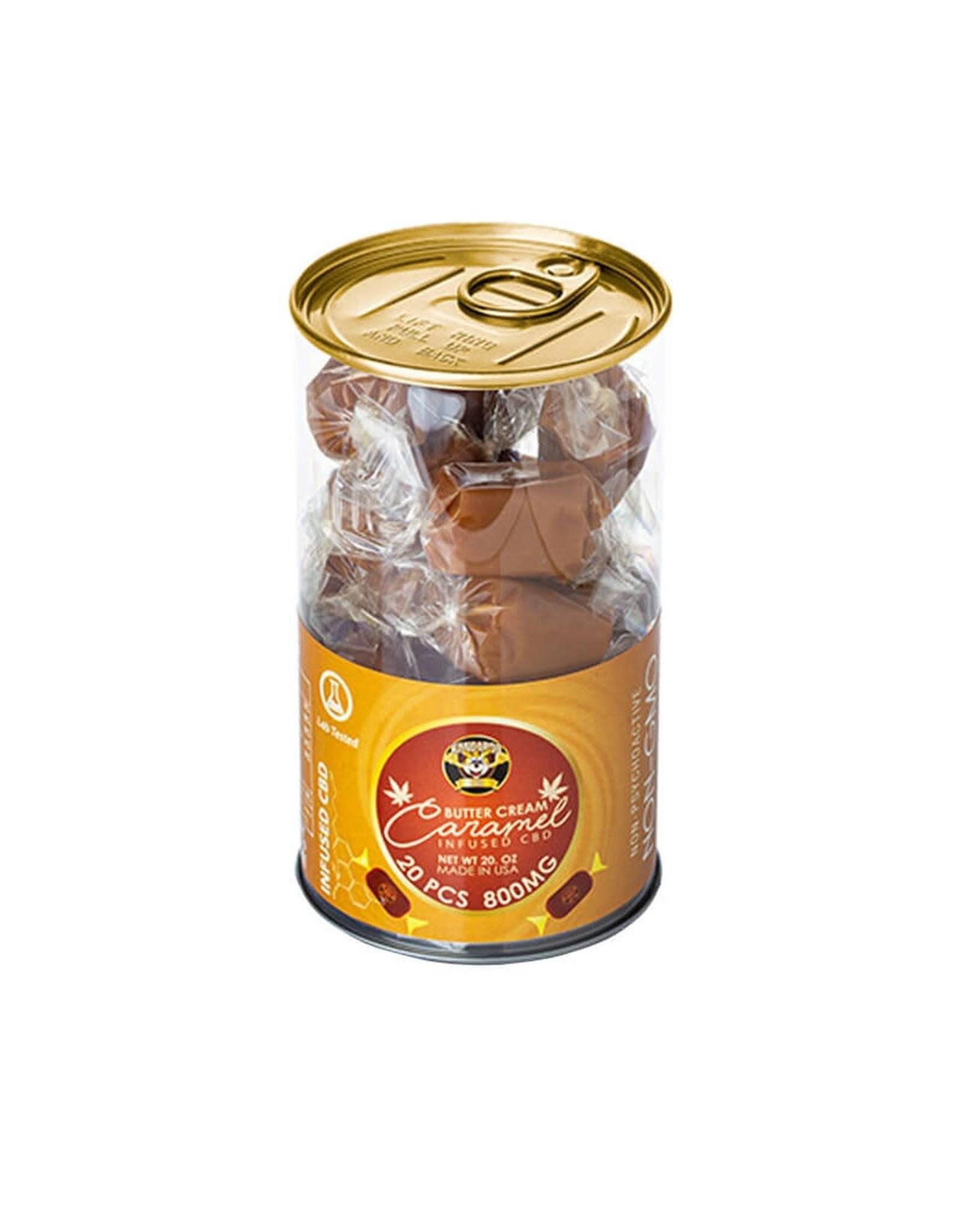 Kangaroo CBD Kangaroo CBD Butter Cream Caramel  Candy 200mg 5ct